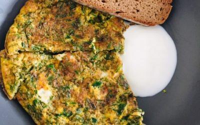 Kräuter Omelett